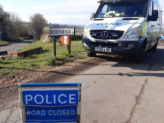 Traffic officers are appealing for witnesses and dash-cam footage after a man and his dog died in a collision in Rotherham on Tuesday.