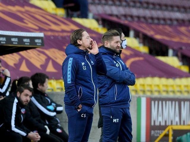 Mark Trueman (right) and Conor Sellars (left). Picture: Simon Hulme.