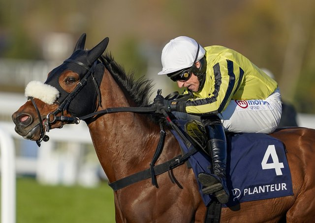 Allmankind, the mount of Harry Skelton, is due to line up in the Arkle Trophy next week.