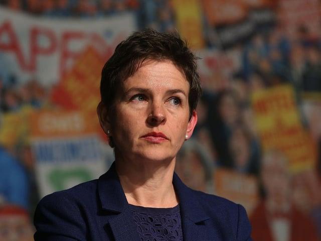 Former Wakefield MP Mary Creagh. Photo: PA
