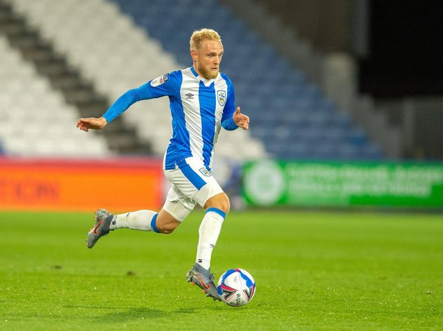 FIT AGAIN: But Huddersfield Town's change of formation could work against Alex Pritchard