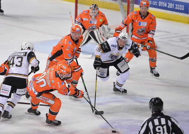 Sheffield Steelers will kick off their Elite Series campaign against Nottingham Panthers on Saturday, April 3. Picture courtesy of Dean Woolley.