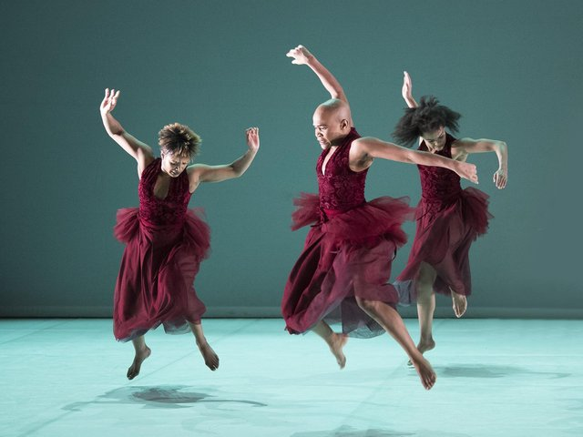 Dada Masilo's Giselle. (Picture credit: Laurent Philippe/divergence-imag).