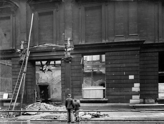 The Leeds raid of 1941. Picture: Leodis photographic archive/Leeds Beckett University