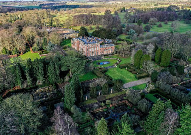 This picture of Newby Hall near Ripon shows the value of trees to the Yorkshire landscape. Byline: Charlotte Graham.  ©2021 CAG Photography Ltd.