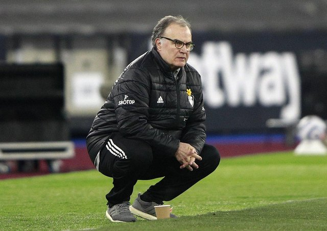 Leeds United head coach Marcelo Bielsa. Picture: PA.
