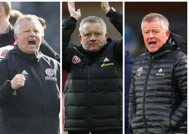 Chris Wilder has created some special memories during his time in charge at Sheffield United. Pictures: SportImage.