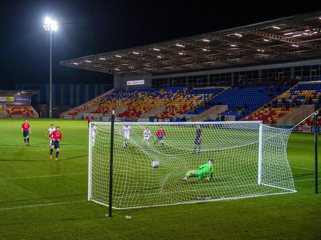 NEW GROUND: Buy York's Community Stadium will not host football again until the pre-season