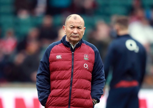 Eddie Jones: His forthright opinions cut short Dan Scarbrough's time at Saracens. (Picture: PA)