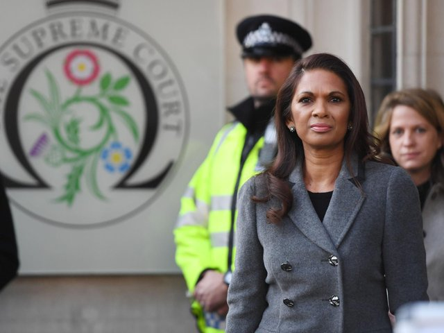 Gina Miller outside the Supreme Court in London in 2016. Picture: Victoria Jones/PA Wire