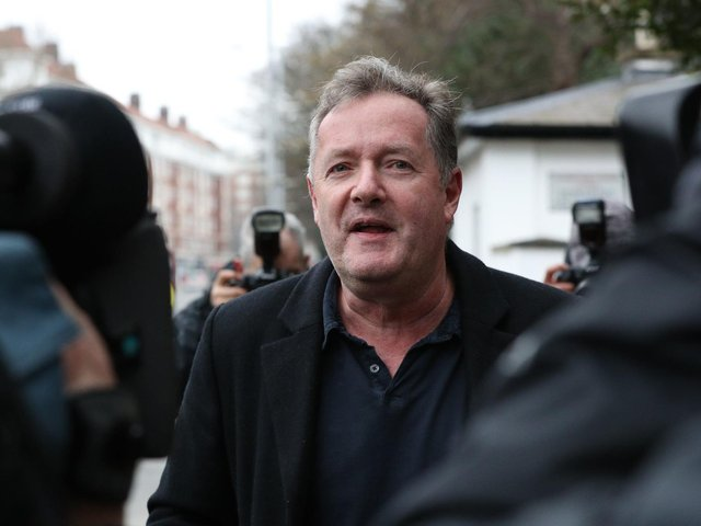 Piers Morgan became embroiled with the story about the Royal family. (PA).