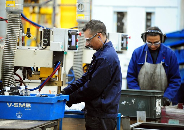 Manufacturers have upgraded their growth forecasts for this year despite a fall in export orders. Picture: Rui Vieira/PA Wire