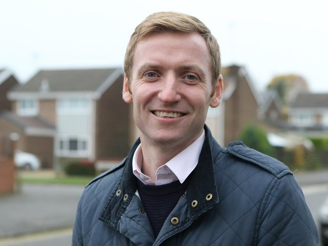 Conservative MP for North East Derbyshire Lee Rowley. Photo: JPI Media