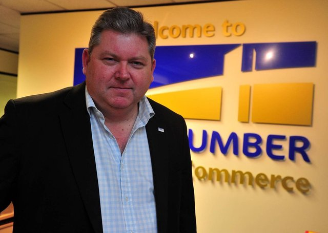 Dr Ian Kelly, chief executive of Hull and Humber Chamber of Commerce, Beverley Road, Hull.