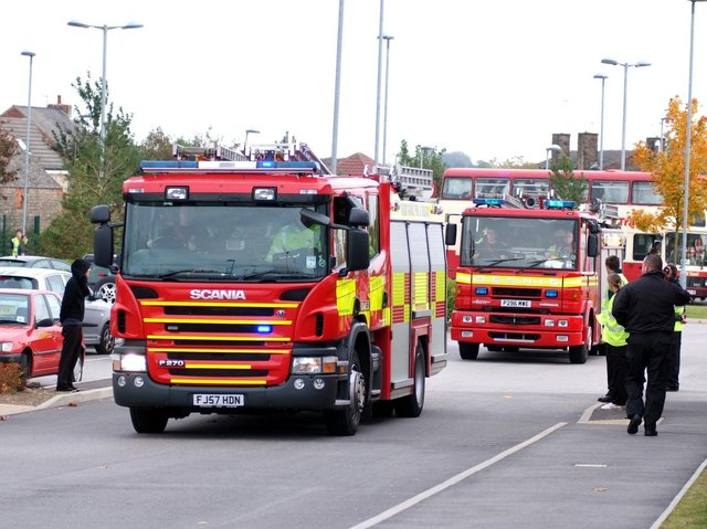 Crews from Lythe and Whitby attended a fire to a sheep hut containing sheep and cattle in Mickleby, Saltburn-by-the-sea, North Yorkshire Fire and Rescue service said.