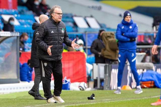 Learning quickly: Leeds United head coach Marcelo Bielsa. Picture Bruce Rollinson