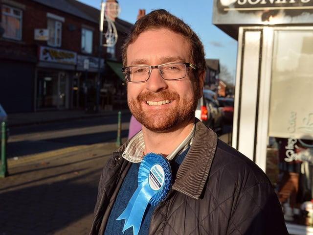 Rother Valley MP Alexander Stafford. Photo: JPI Media