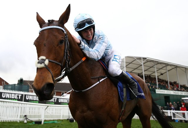 Honeysuckle and Rachael Blackmore head the field for today's Champion Hurdle at Cheltenham.