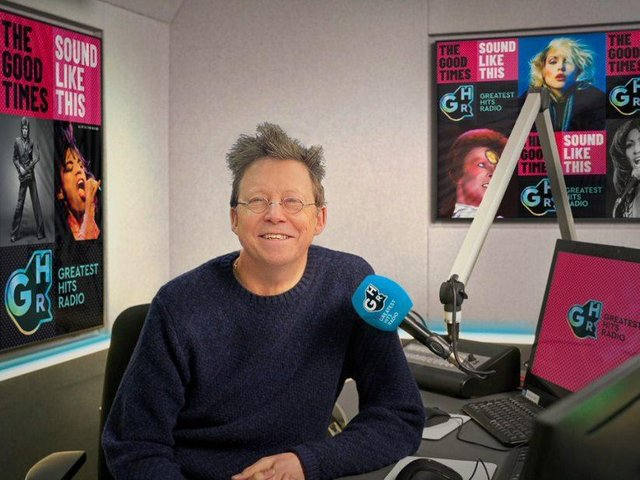 Simon Mayo is now presenting for Greatest Hits Radio.