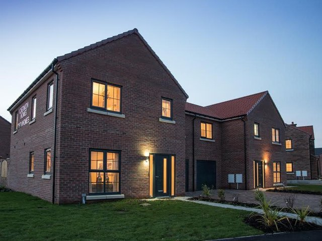 Interest in the Priory Meadows development has been phenomenal, according to marketing agents Preston Baker.