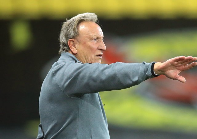 STAND UP AND BE COUNTED: Middlesbrough manager Neil Warnock wants his players to fight fire with fire against Preston tonight. Picture: Adam Davy/PA Wire.