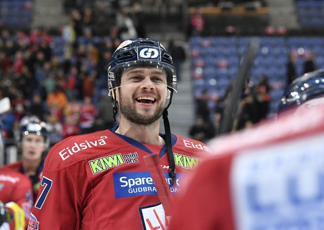 NEW FACE: Adrian Saxrud Danielsen, the first import signed by Sheffield Steelers for the 2021 Elite Series. Picture submitted by Steelers Media.