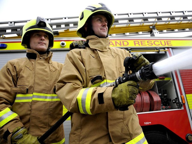 Fire and rescue services in England could in future be brought under the control of elected police and crime commissioners (PCCs), Home Secretary Priti Patel has said.