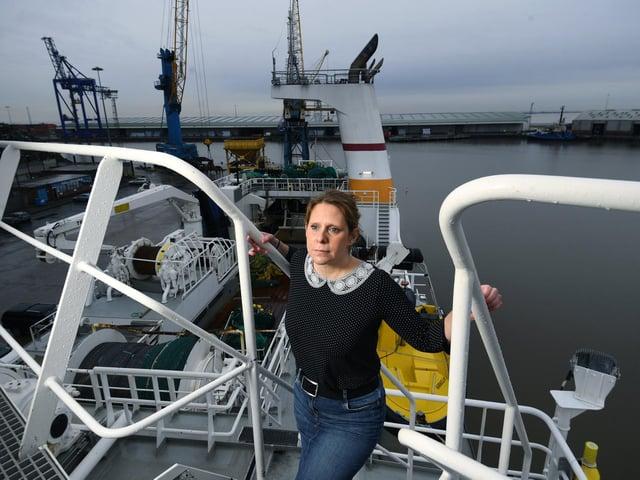 Chief executive of UK Fisheries Jane Sandell