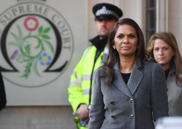 Gina Miller was a prominent anti-Brexit campaigner.