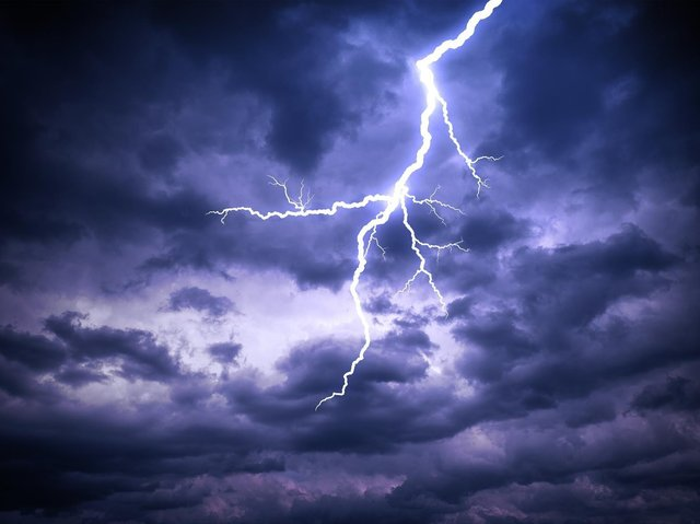 Lightning strikes were just as important as meteorites in creating the conditions for life to emerge on Earth, geologists say. Picture: Shutterstock