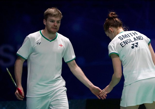 England's Marcus Ellis: Teaming up with Lauren Smith.
