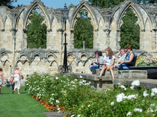 Museum Gardens in York