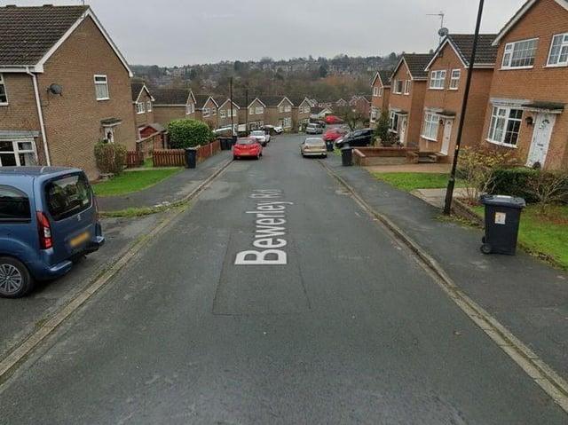 Bewerley Road in Harrogate.