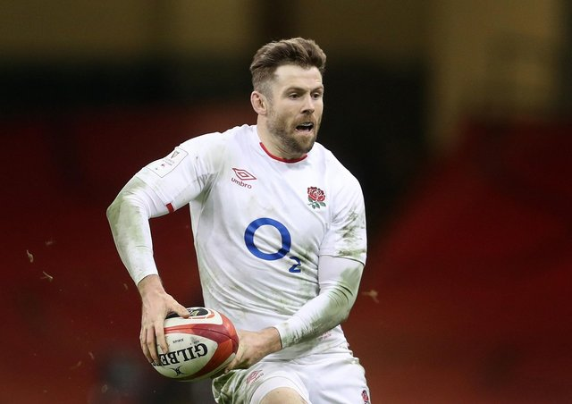 Centre of attention: England's Elliot Daly.