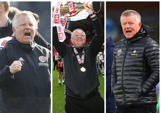 Chris Wilder spent five memorable years in charge at Bramall Lane.
