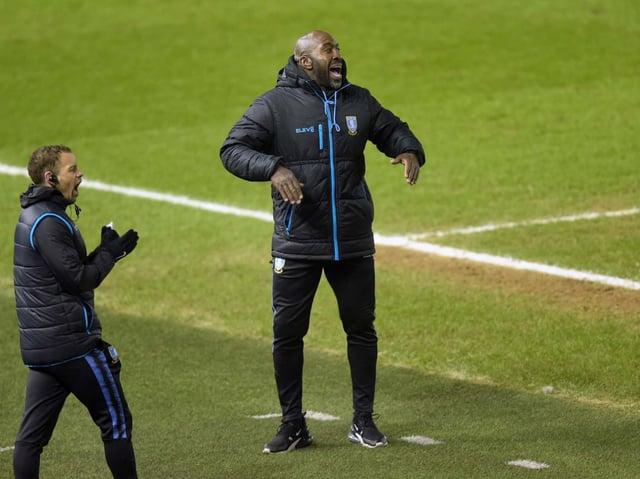 POSITIVES:Sheffield Wednesday manager Darren Moore