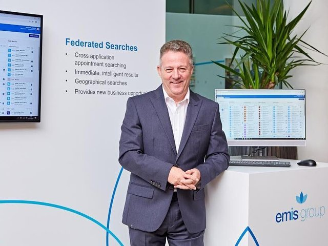 Andy Thorburn, chief executive of Emis Group