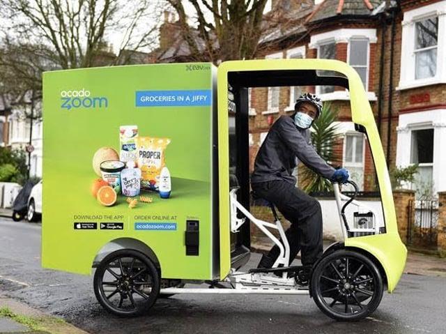 Ocado processed 329,000 orders a week,