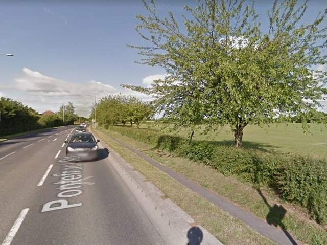 The 11-year-old boy was walking in a field close to Pontefract Road in Snaith, on Monday when a man is alleged to have followed him and tried to grab him twice.