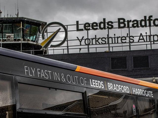 Leeds Bradford Airport. Photo: Charlotte Graham