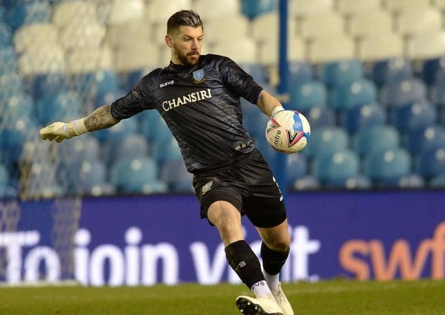 PROUD: Sheffield Wednesday goalkeeper, Keiren Westwood.     Picture: Steve Ellis