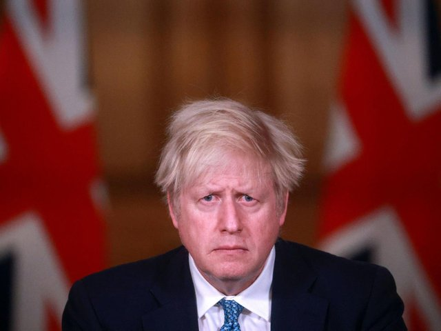 In the days before the first lockdown, Boris Johnson claimed that the tide of coronavirus could be turned in 12 weeks. Picture: PA.