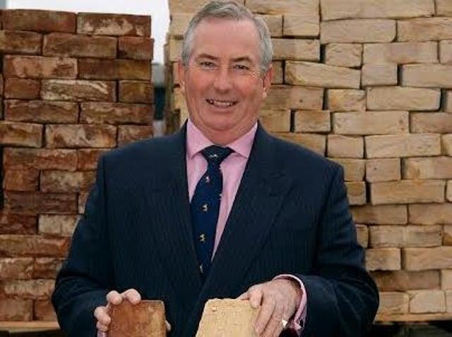 David Armitage with York Handmade's ethical bricks