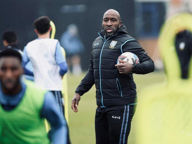 Darren Moore. Picture courtesy of Sheffield Wednesday FC.