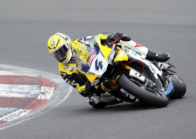 Back on his bike: Dan Linfoot. Picture: Alex Burstow/Getty Images