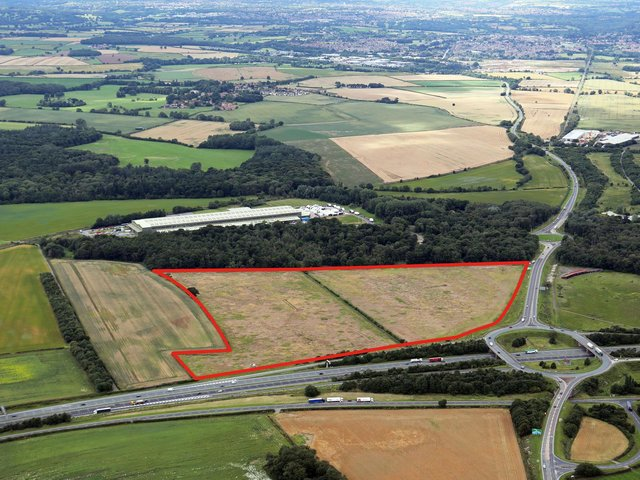 The planned site of Harrogate 47.