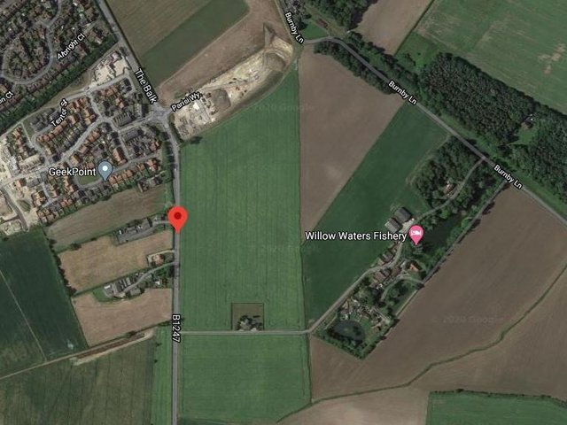 Developers have won permission for 380 homes off The Balk in Pocklington