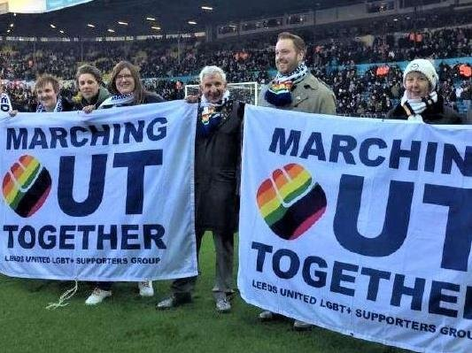 Before the pandemic, the group had a regular attendance at Elland Road on match days to raise awareness of LGBT issues, and have worked with the club's academy to teach young players how to tackle homophobia on and off the pitch.
