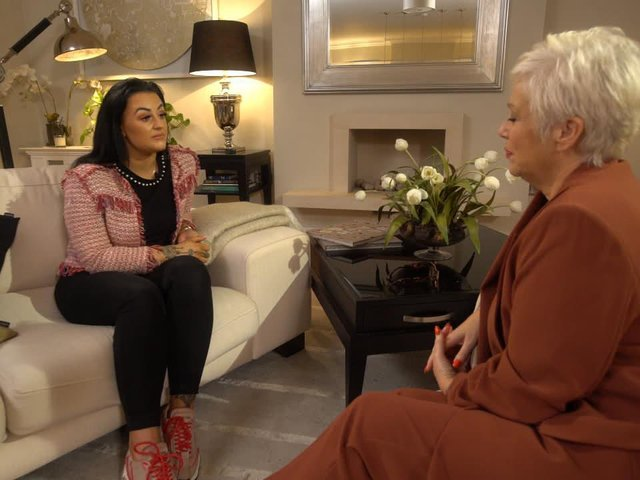 Domestic abuse survivor Bethany Marchant speaks to Denise Welch for her new docuseries, Survivors with Denise Welch