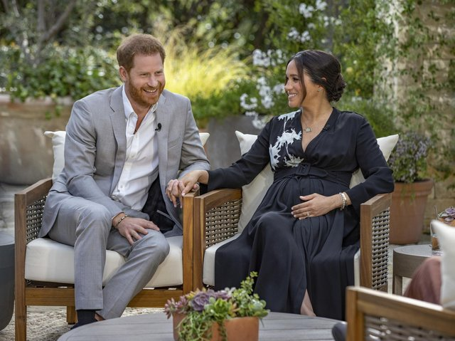 Debate continues about Harry and Meghan's television interview.